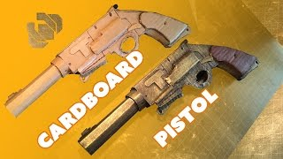 Cardboard Pistol Challenge - Prop: Live from the Shop
