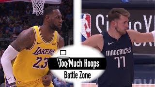 Lebron James vs Luka Doncic - Two Triple Doubles! Epic Showdown - Full Highlights 11.1.2019