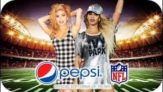 Lady Gaga Ft. Beyonce - Super Bowl Halftime Show (Fan made)