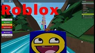Roblox: jogando roblox sem sabe - mega dessida ( Slide 9999 FEET )