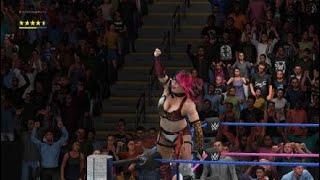 WWE 2K18 Smackdown Universe Mode Asuka Vs Carmella