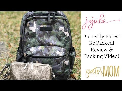 Ju-Ju-Be | Butterfly Forest Be Packed Review & Packing Video! | GatorMOM