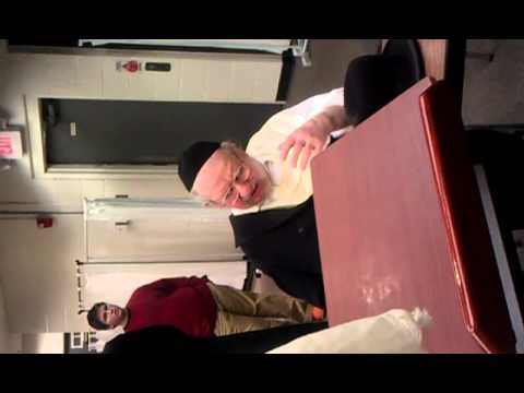 "HaRav HaGaon R' Moshe Green, zt""l, speaking at Yeshiva of Virginia"