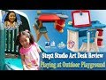 Step2 Studio Art Desk Review Good Quality and Features   Playing at Outdoor Playground