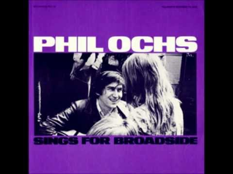 Phil Ochs - That's What I Want To Hear (live)