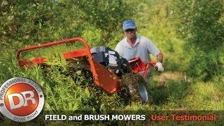 DR Self-Propelled Field & Brush Mower - John's Review