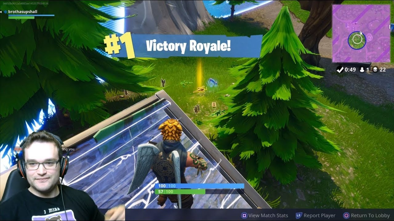 High Kill Tilted Towers Solo Game PS4 Pro Fortnite