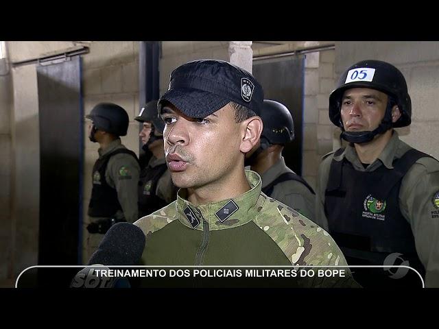 JMD (09/03/19)   Policiais do BOPE em treinamento