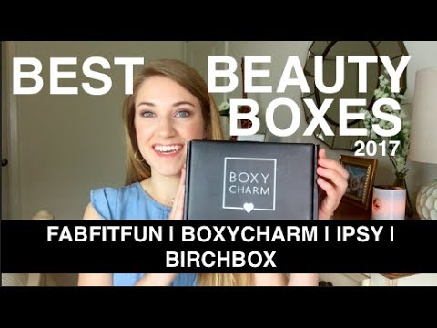 Best Beauty Subscription Boxes | 2017 | This or That