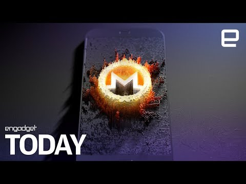 Cryptocurrency mining hijack targets millions of phones | Engadget Today