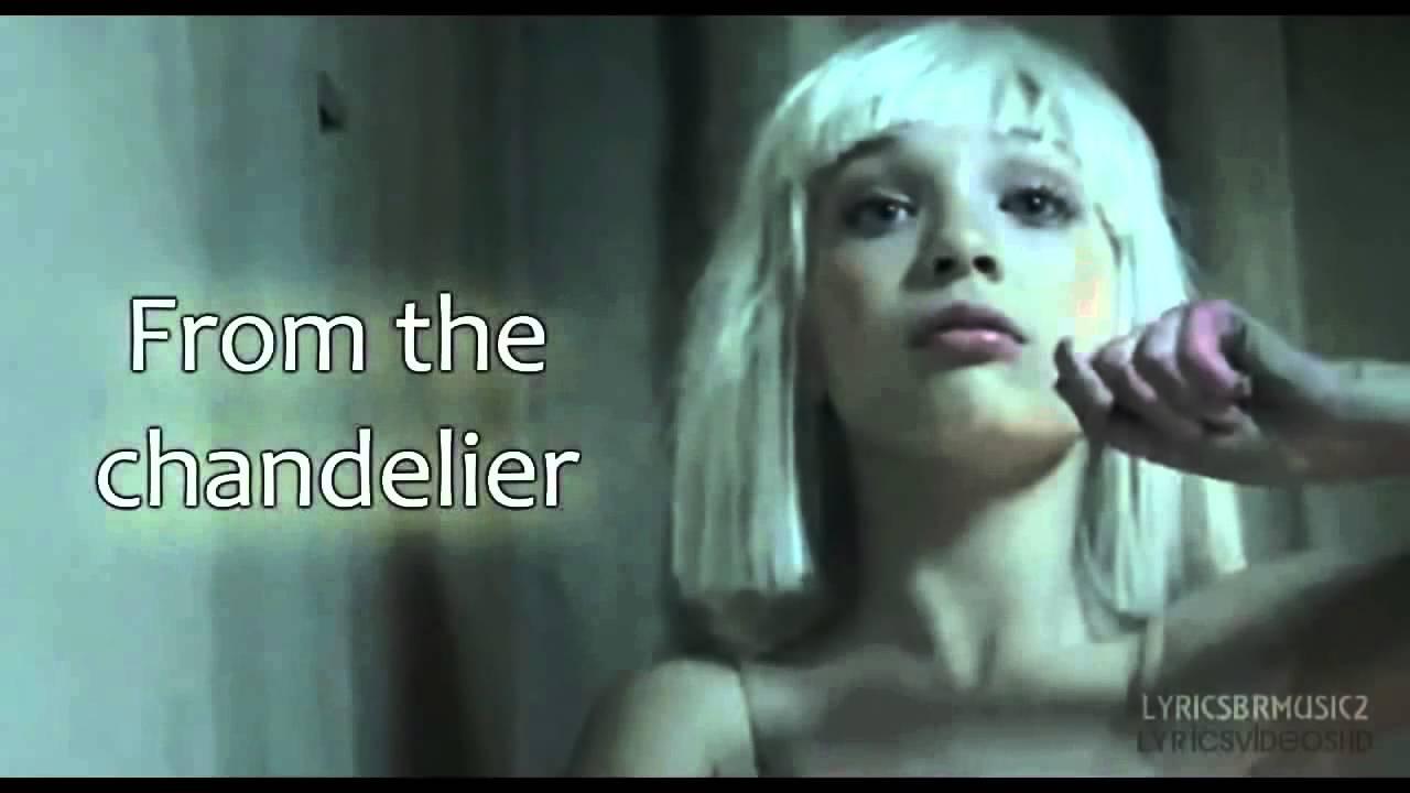 Sia Chandelier Lyrics Video HD - YouTube