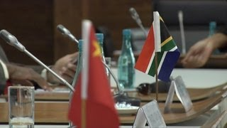 SA--China relations a basis for economic survival