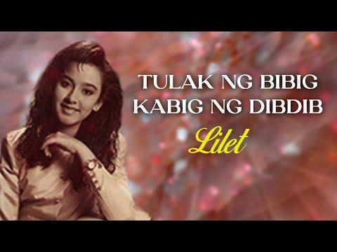 Lilet - Tulak Ng Bibig, Kabig Ng Dibdib (Lyrics Video)