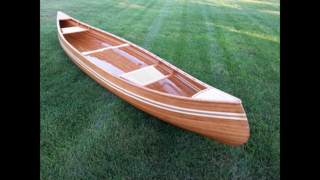 Cedar Strip Canoe Project - YouTube