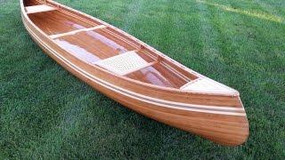 Cedar Strip Canoe Project