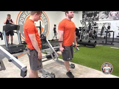 Hammer Strength Ground Base Squat/Lunge