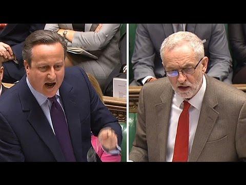 David Cameron savages Jeremy Corbyn on Hamas 'friends'