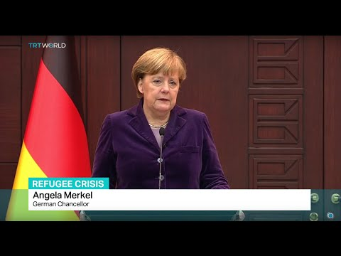 German Chancellor in Turkey to discuss refugees, Francis Collings reports