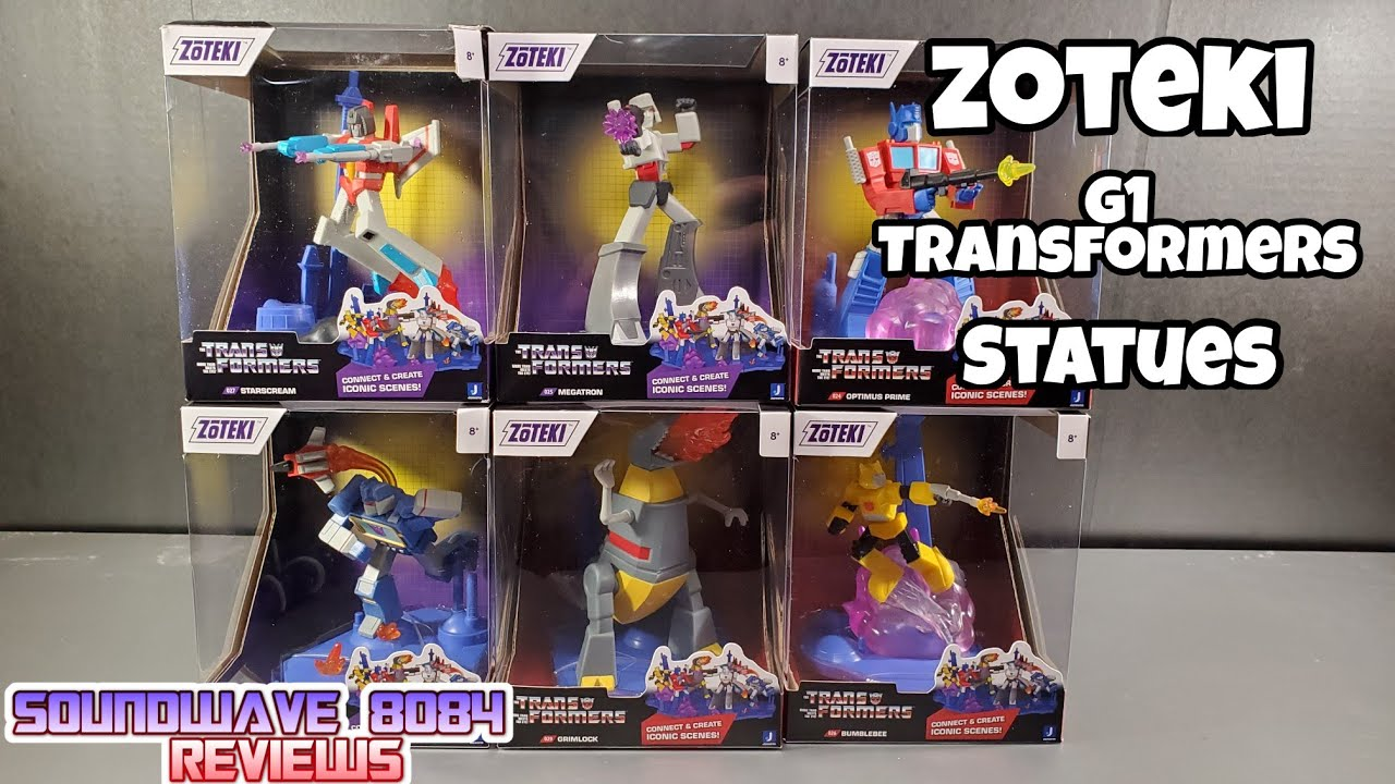 Zoteki G1 Transformers Statues Review By Soundwave 8084