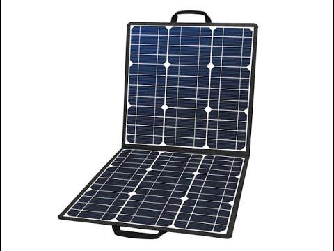 50w-18v-portable-solar-panel,-flashfish-foldable-solar-charger-with-5v-usb-18v-dc-output---overview