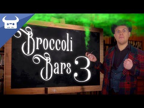 BROCCOLI BARS 3: WIGGLY WILLY   Dan Bull