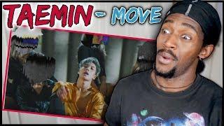 Dancer Reacts To TAEMIN 태민 'MOVE' #1 MV | Taemin Dancing In The Rain is Hype | Taemin Move reaction
