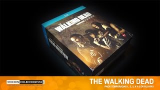 The Walking Dead Pack Temporadas 1-5. Review y Unboxing.
