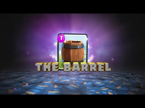 Clash Royale Introducing The Barrel (Clash Royale New  Card Idea Trailer)