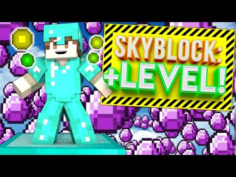 +LEVEL UP NEW CHALLENGES! | Minecraft Skybounds #6