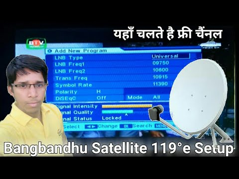 3 in 1, Set Three Satellites in One Ku Band Dish & Watch