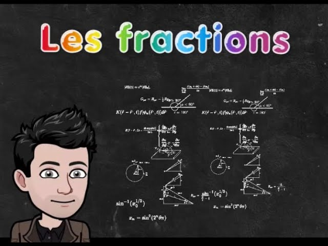 Fractions : addition et soustraction