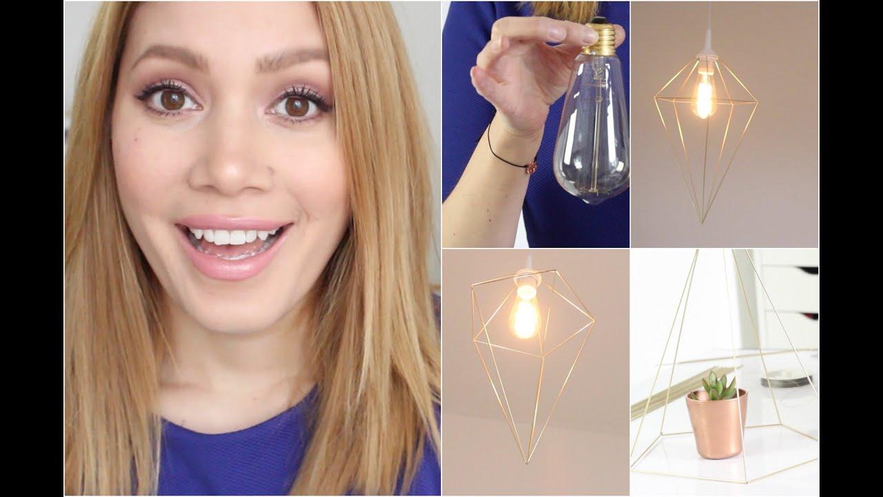 Geometrische lampe deko sundiy youtube for Geometrische deko