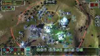 Supreme Commander Forged Alliance Gameplay