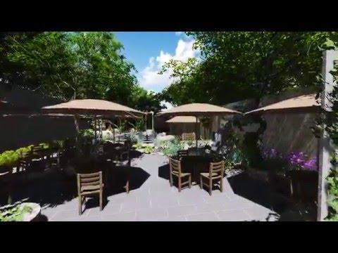 Thiết kế sân vườn quán Cafe tuyệt đẹp tại Đăk Nông