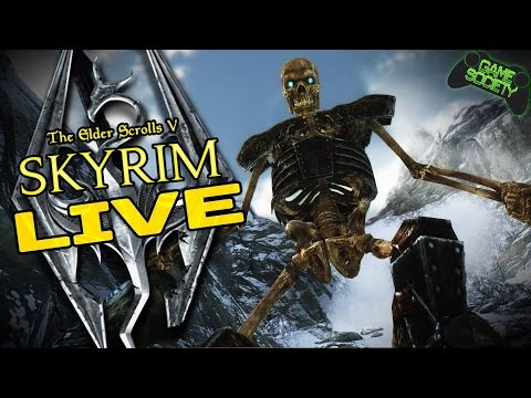 Skyrim - You Choose What We Do (E12 Part 1) - Game Society