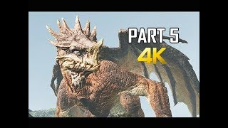 GOD OF WAR Gameplay Walkthrough Part 5 - DRAGON (PS4 PRO 4K Commentary 2018)