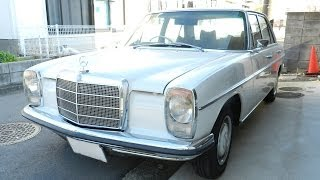 Repeat youtube video Mercedes Benz 200(W115) '1969