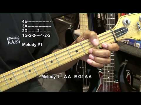 How To Play STAND BY ME Ben E King Bass Guitar Lesson EricBlackmonMusic Soul