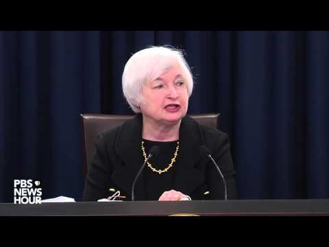 Fed Chair Janet Yellen speaks on interest rate decision