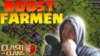 [facecam] BOOST FARMEN! || CLASH OF CLANS || Let's Play CoC [Deutsch/German HD]