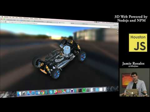 3D Web Powered By Nodejs and NPM