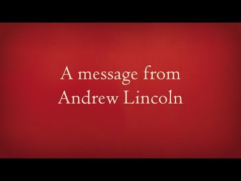 A message from Andrew Lincoln on new Quidditch Through the Ages  book