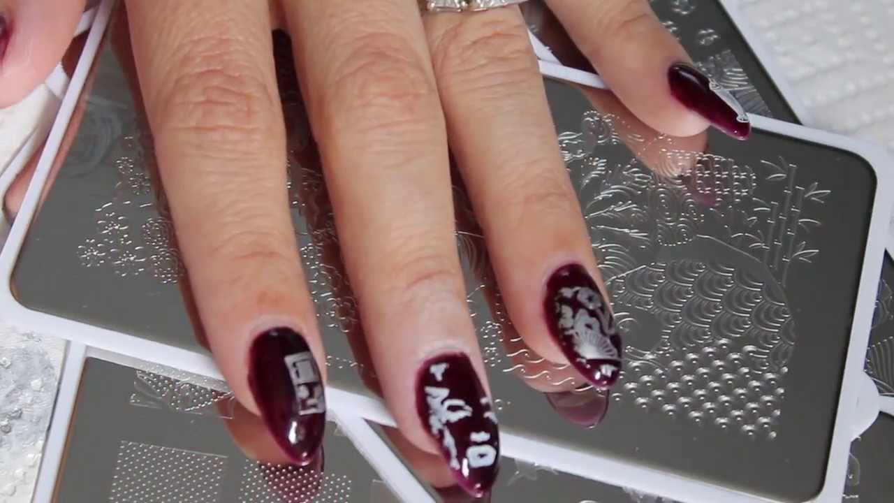 MoYou Nail Stamping Plates Review/Demo - YouTube