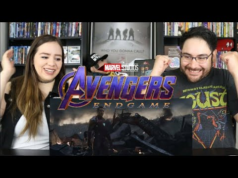 Avengers ENDGAME - Special Look Trailer Reaction / Review