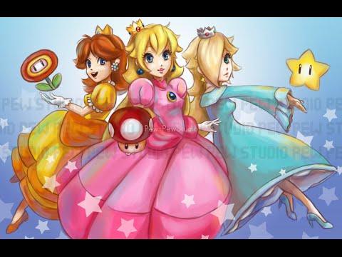 Rosalina Princess Daisy Princess Peach Mario Bros., Princess ... | 360x480