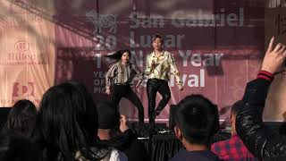 Ellen And Brian KPop Dance At San Gabriel New Years Celebration 2019