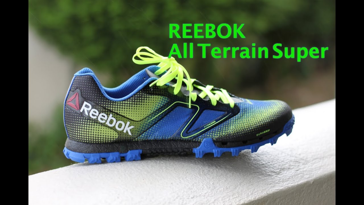 Reebok All Terrain Super, Unboxing running shoes review