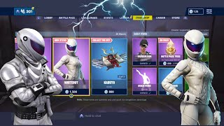 Whiteout - Overtaker Skin Returns! Fortnite ITEM SHOP AUJOURD'HUI [4 avril] Mise à jour quotidienne cuBeLightning
