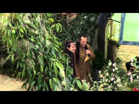The Hobbit - Rivendell (behind the scenes)