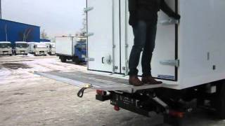 Принцип работы гидроборта Bar Cargolift BC 1500F2 Falt(Принцип работы складного подворачивающегося гидроборта Bar BC 1500F2 серии Falt Раскладка платформы происходит..., 2012-12-14T10:54:49.000Z)